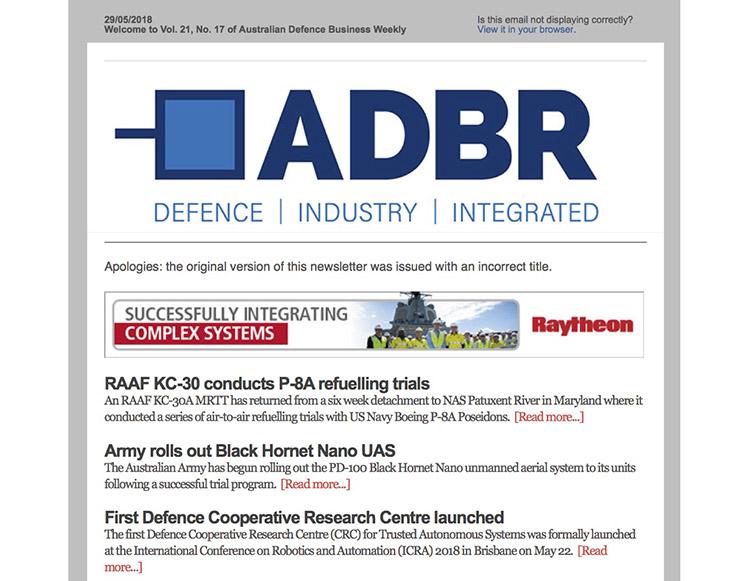 ADBR weekly
