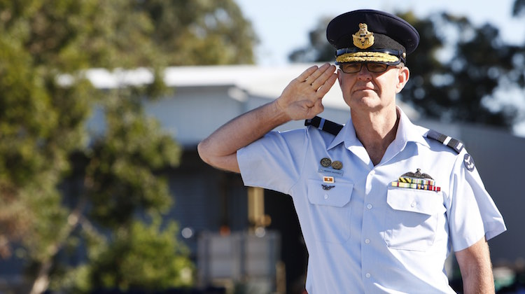 Change of Command for Air Lift Group