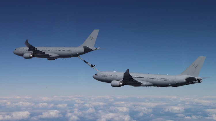 KC-30A Refuel Boom Contact