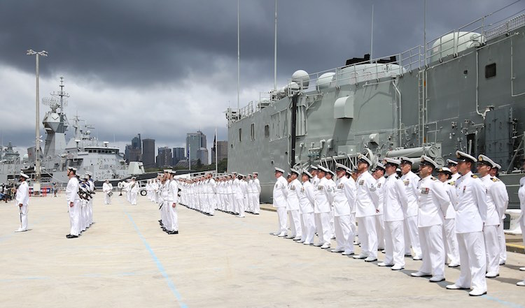 HMAS Sydney Decommissioning