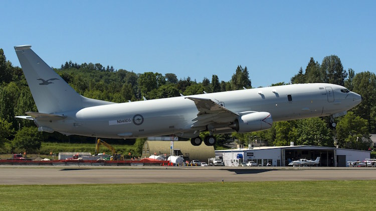 The first P-8A aircraft for the Royal Australian Air Force leaves Renton Field for Boeing Field in nearby Seattle, marking its transfer from Commercial Airplanes to Boeing Defense, Space & Security for final completion.