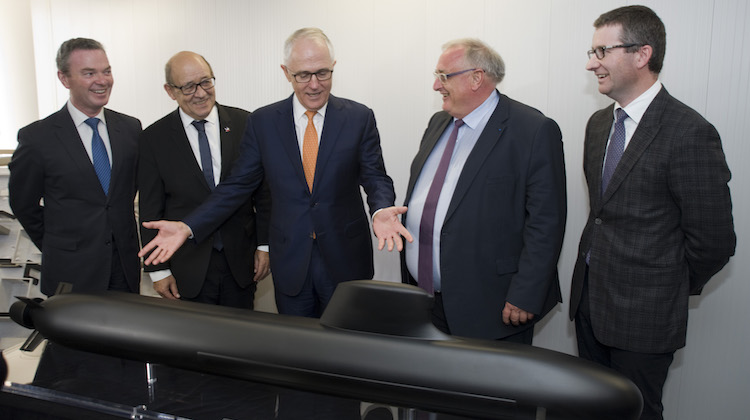 DCNS Australia Adelaide Future Submarine Offie founding 1