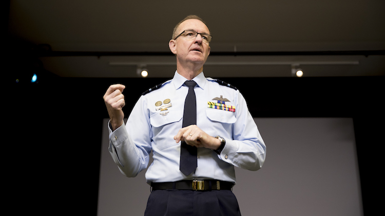 The appointment of Chief of Joint Capabilities, Royal Australian Air Force, Air Vice Marshal Warren McDonald for the formation of the Joint Capabilities Group.