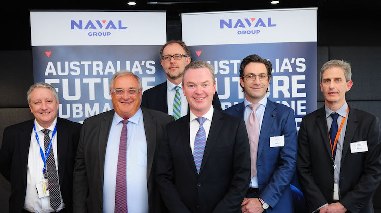 Naval Group Contract Signing