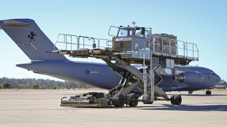 Aircraft Cargo Loader