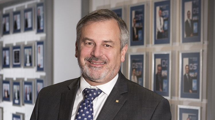 Chief Defence Scientist and head of the Defence Science and Technology Organisation (DSTO) Dr Alex Zelinsky at the Canberra headquarters of the Defence Science and Technology Organisation (DSTO).