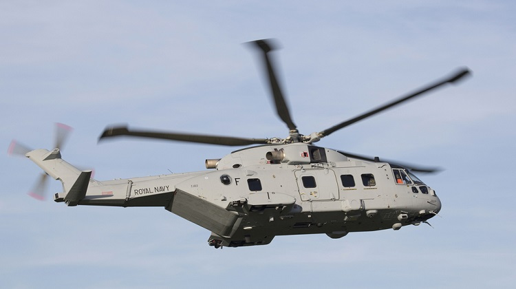 Leonardo Royal Navy AW101 Merlin Mk4