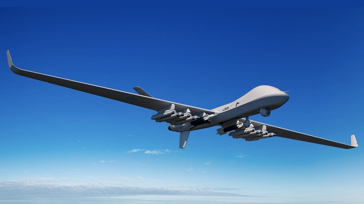 "Image Shows: An artist's impression of the Protector, a new Remotely Piloted Air System (RPAS) ordered for the Royal Air Force, which will fly non-stop from the United States to RAF Fairford in the UK on 11 July. Historic trans-Atlantic flight planned for new Royal Air Force aircraft A new Remotely Piloted Air System (RPAS) ordered for the Royal Air Force will fly non-stop from the United States to RAF Fairford in the UK on 11 July. The UK is the lead customer for the next-generation aircraft which will be known as the Protector RG Mk.1 when it enters service in the early 2020's. Operated at all times by a fully qualified pilot, Protector is the World's first RPAS to be designed, built and certified against stringent NATO and UK Safety Certification standards equivalent to manned aircraft. The flight from North Dakota to Gloucestershire is likely to take over 20 hours and will be the first across the Atlantic by a Medium Altitude RPAS and the first time one has entered UK airspace under beyond line-of-sight communication control. The Minister for Defence Procurement, Guto Bebb MP said: """"Protector's first arrival in the UK is an exciting milestone in our mission to get the most advanced equipment to combat the intensifying threats that we face. With almost double the endurance of its predecessor and armed with the latest missiles and surveillance technology, this unmanned aircraft will not only give us a decisive advantage on the battlefield but will help us reach new heights to keep Britain safe at home and overseas."" Air Vice-Marshal Rochelle, Chief of Staff Capability said: ""The first trans-Atlantic flight of the Protector reinforces the Royal Air Force as being at the forefront of cutting edge technology. Offering over 40 hours' endurance Protector will provide the RAF with unrivalled intelligence gathering possibilities. The decision to expand our Remotely Piloted Air System fleet with this world leading aircraft will offer a"