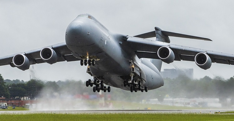 Lockheed Martin (NYSE: LMT) Aeronautics Company delivered the 52nd and final C-5M Super Galaxy strategic transport modernized under the U.S. Air Force's Reliability Enhancement and Re-engining Program (RERP) on Aug. 2, 2018 at the company's Marietta, Georgia, facility. The RERP upgrade will extend the service life of the C-5 fleet out until the 2040s. Lockheed Martin photograph by Andrew Mcmurtrie. (PRNewsfoto/Lockheed Martin Aeronautics Com)